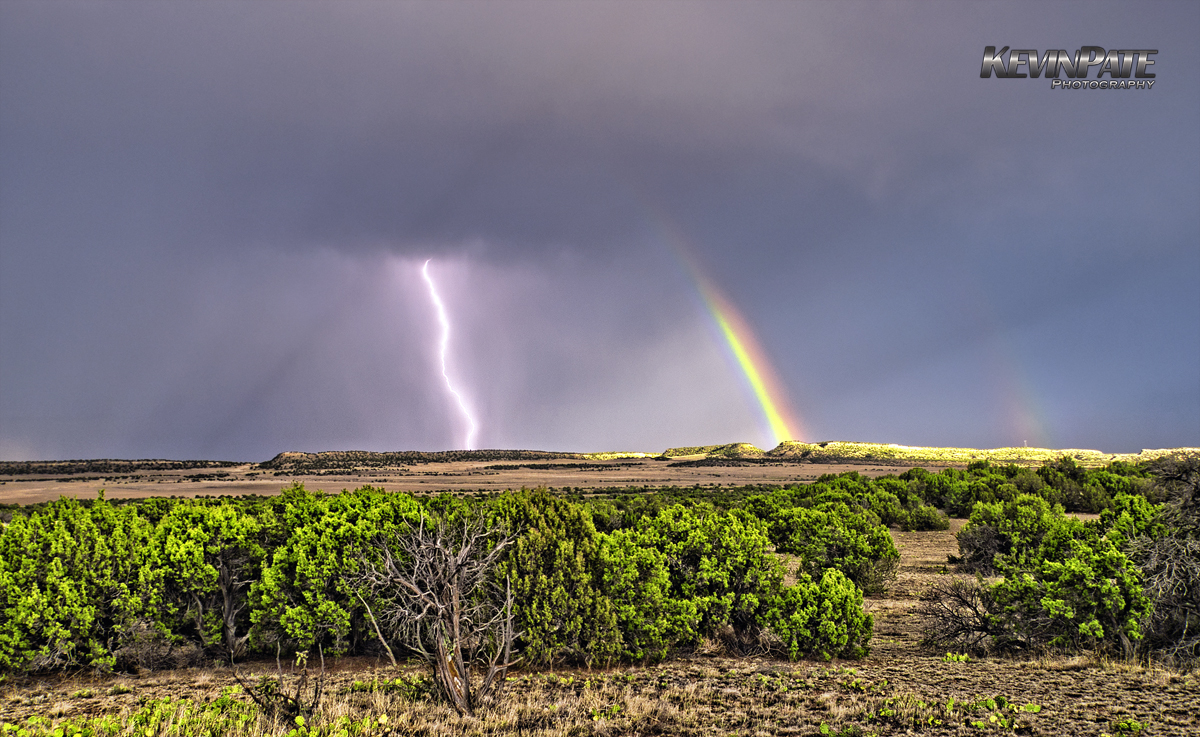 Mother Nature's Light Show - Eastern Colorado