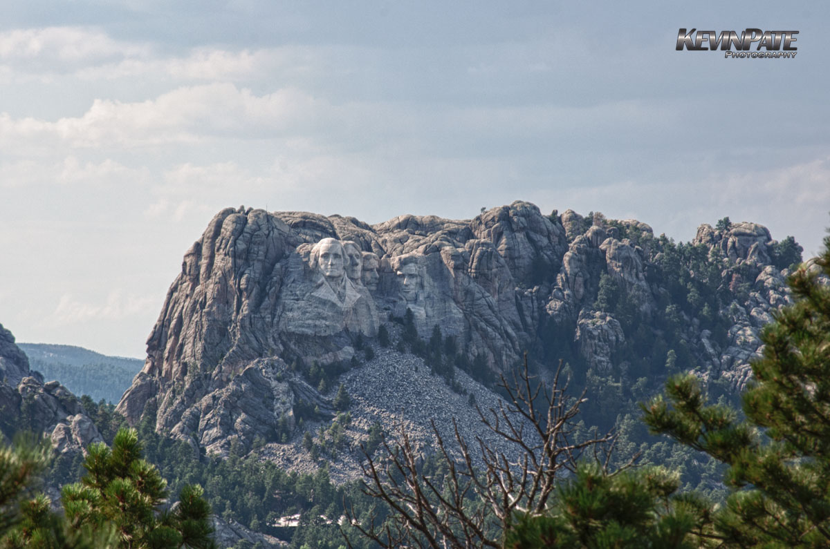 Mt. Rushmore from Custer State Park, south dakota