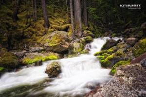 north cascades highway, long exposure, cascade scenic loop, waterfall, pacific northwest, landscape
