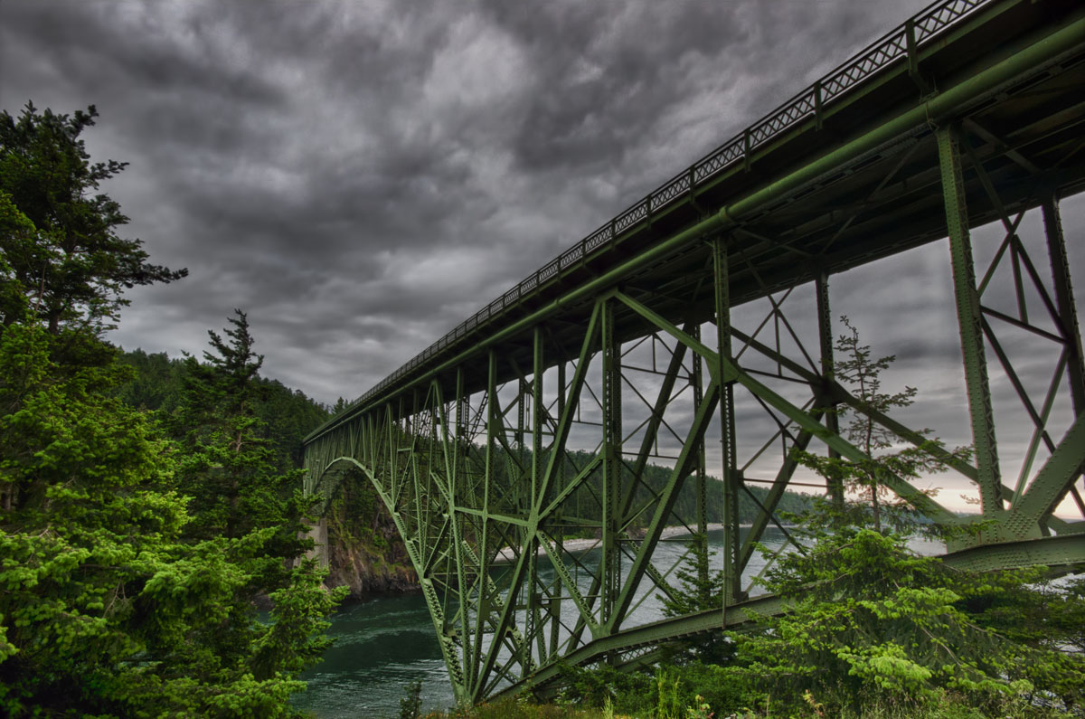 deception pass bridge whidbey island oak harbor