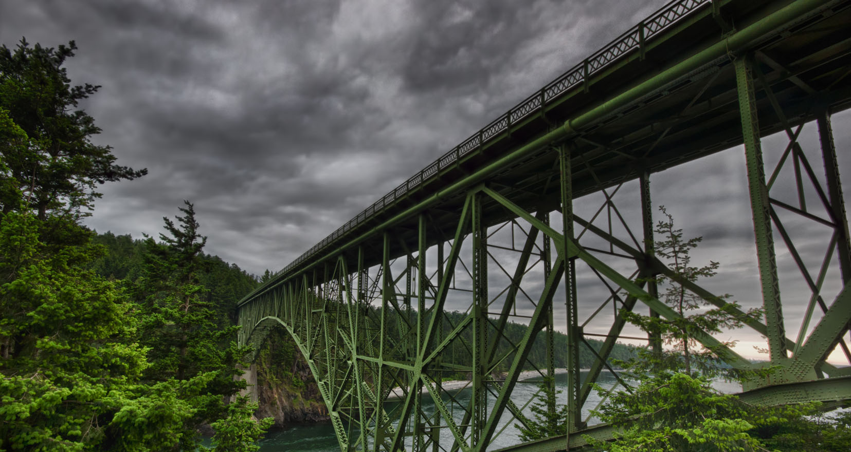 deception pass bridge oak harbor wa whidbey island
